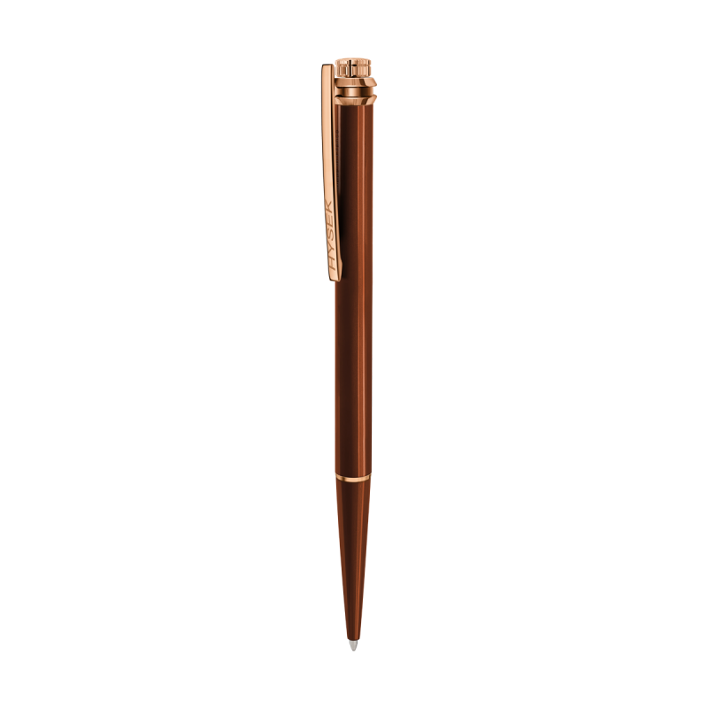 Acajou Brown Lacquer and Rose Gold Finishing