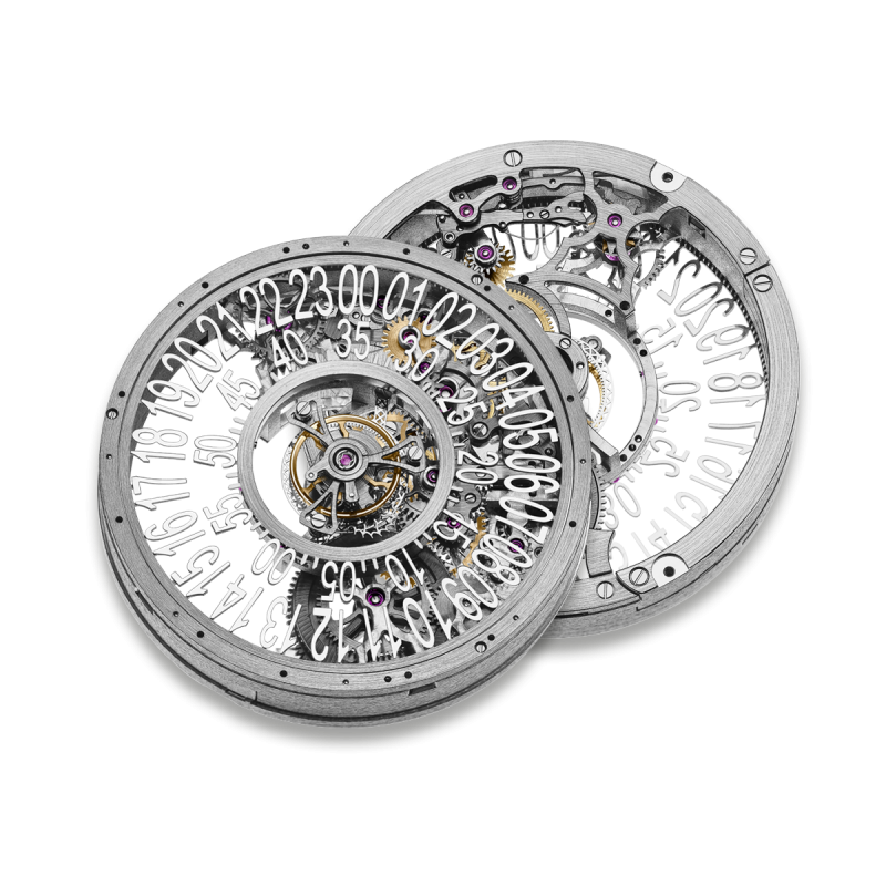 HW22 Skeleton Central Tourbillon