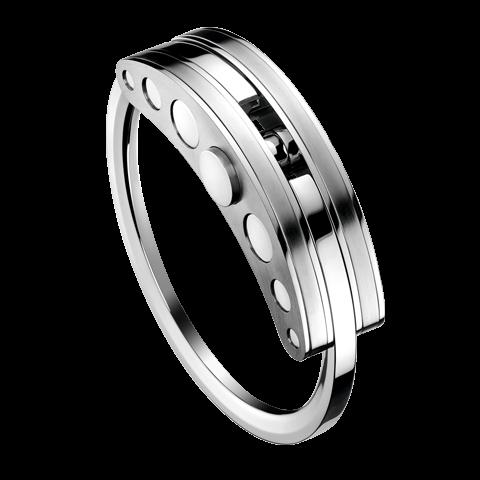 Hysek Key Ring in Steel