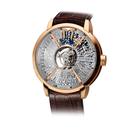 Skeleton Central Tourbillon